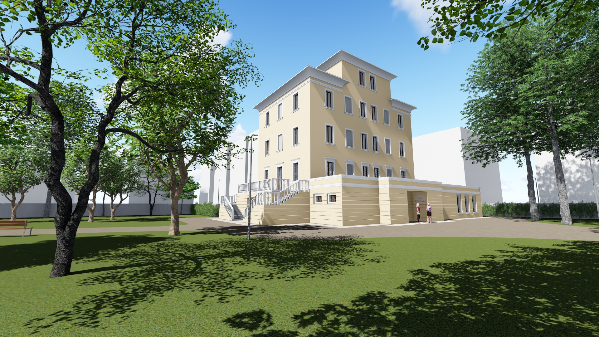 rendering Villa Ombrosa