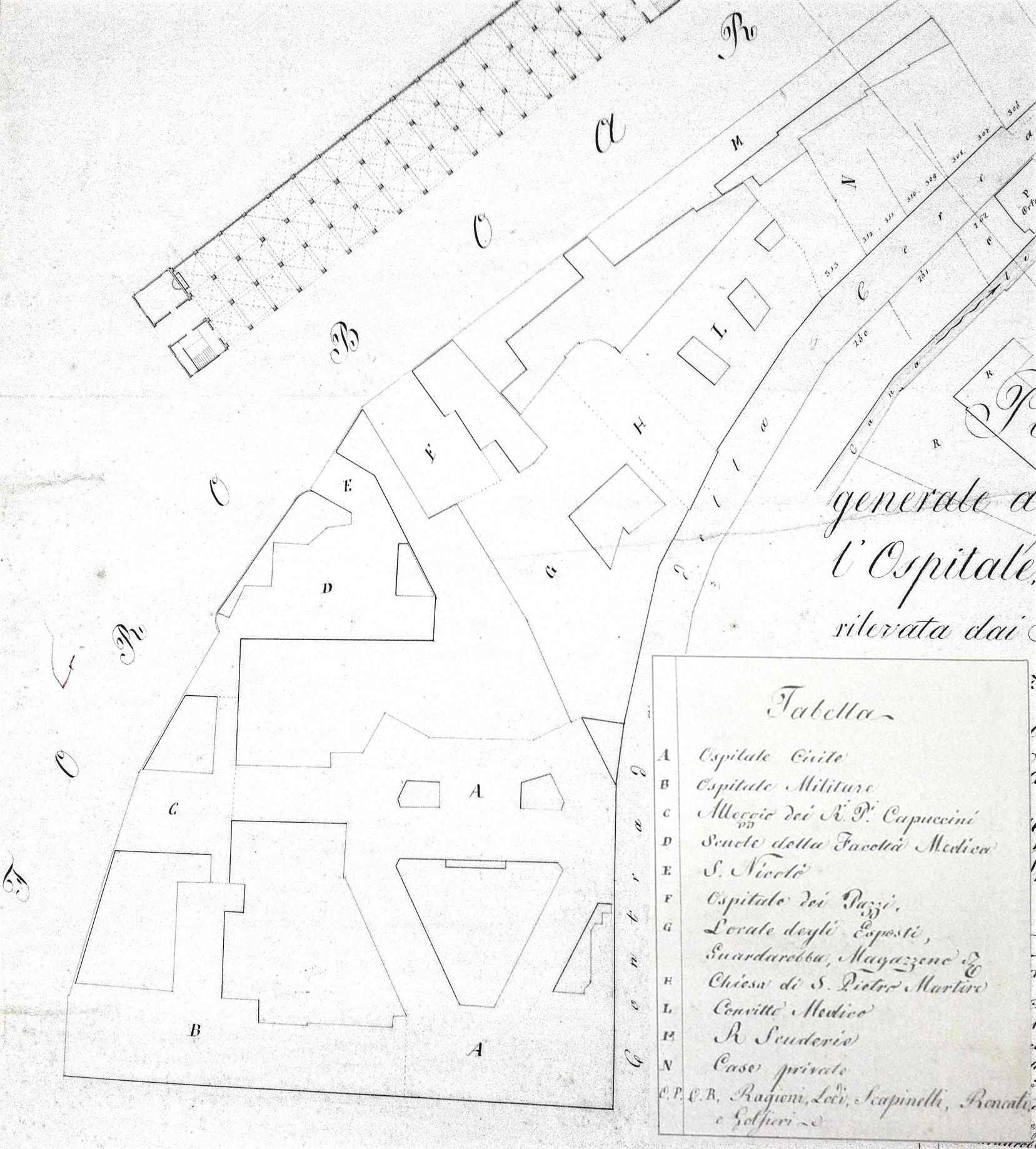 Rilievo Cadetti Matematici Pionieri 1835 (A.S.C.MO – CMP20 CMP 20-4)