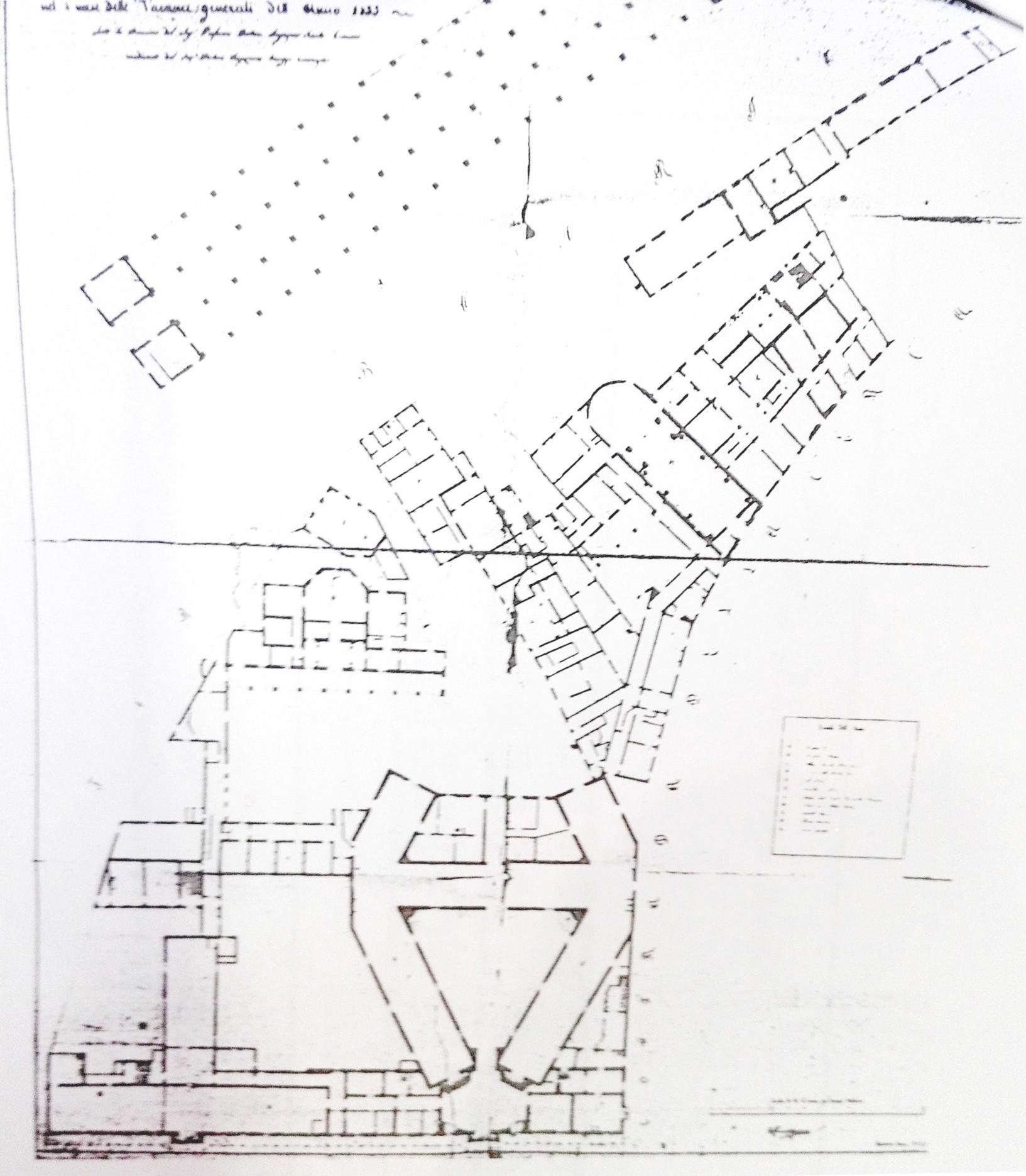 Rilievo Cadetti Matematici Pionieri 1835 (A.S.MO mappe ECA)