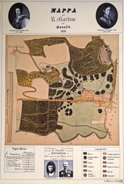 mappa 1858
